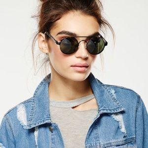 *New* Spitfire Lennon 2 glasses (Black on Black)